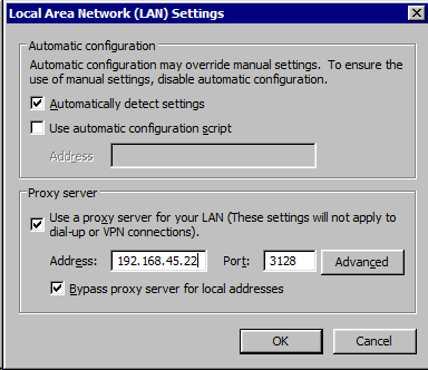 Windows 7 – Setting Proxy Configuration from the command