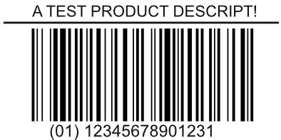 Opensource Barcode Generator in Pure Postscript