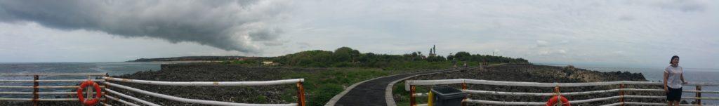 Nusa Dua panorama near Water Blow