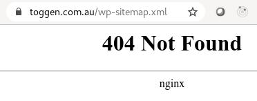 Getting WordPress 5.5 Sitemaps Working with Nginx