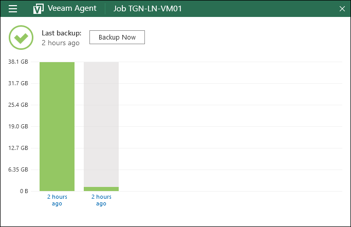 Free Workstation Backup with Veeam Agent for Microsoft Windows